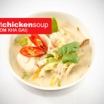 coconut chicken soup - Tom Kha Gai
