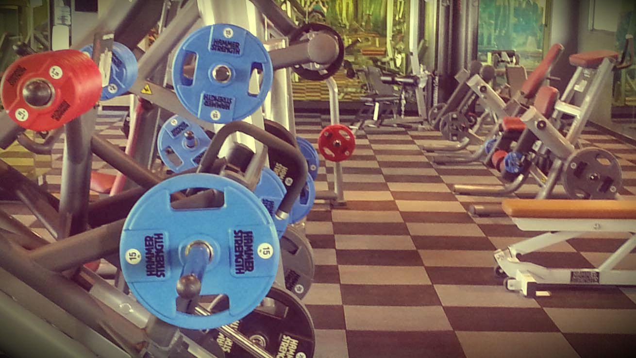 hua hin centennial sports center gym fitness weight room